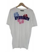 HYDROGEN(ハイドロゲン)の古着「HAWAIIロゴプリントTシャツ」|ホワイト