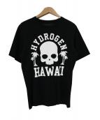 HYDROGEN(ハイドロゲン)の古着「スカルプリントTシャツ」|ブラック