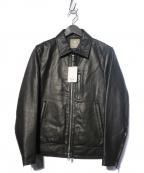 nano&co(ナノアンドコー)の古着「レザージャケット」 ブラック