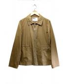 MHL(エムエイチエル)の古着「コットンジャケット」|ベージュ