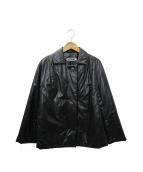 JIL SANDER(ジルサンダー)の古着「中綿ジャケット」|ブラック