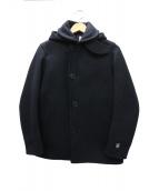 ORCIVAL(オーシバル)の古着「Pコート」|ネイビー