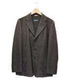 COMME des GARCONS HOMME DEUX(コムデギャルソンオムデュー)の古着「グレンチェックテーラードジャケット」|ブラウン