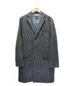 BEAMS Lights(ビームスライツ)の古着「チェスターウールコート」|グレー