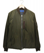 sage de cret(サージュデクレ)の古着「MA-1ジャケット」|オリーブ