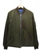 sage de cret(サージュ デクレ)の古着「MA-1ジャケット」 オリーブ