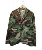 Engineered Garments×LOFTMAN(エンジニアードガーメンツ×ロフトマン)の古着「リップストップカモ柄ジャケット」|カーキ