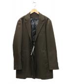 MICHEL KLEIN(ミシェルクラン)の古着「ライナー付コート」 ブラウン