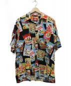 reyn spooner(レインスプーナー)の古着「ディズニーアロハシャツ」|マルチカラー