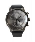 BOSS HUGO BOSS(ボスヒューゴボス)の古着「クロノグラフ 腕時計」