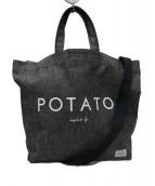 PORTER B印ヨシダ(ポーター ビージルシヨシダ)の古着「 POTATO 2WAYトートバッグ」|グレー