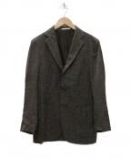 DEPETRILLO(デペトリロ)の古着「Loro Piana生地 3Bジャケット」|ブラウン