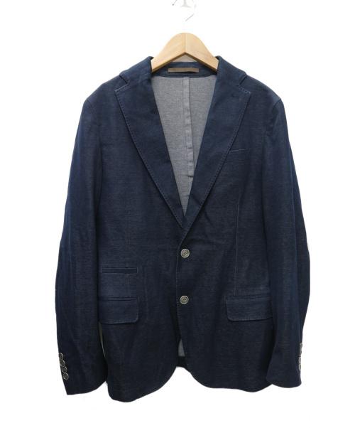 eleventy(イレブンティ)eleventy (イレブンティ) ジャージ2Bジャケット ネイビー サイズ:48 参考価格70.200円の古着・服飾アイテム