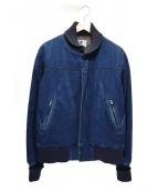Engineered Garments(エンジニアードガーメンツ)の古着「デニムブルゾン」|インディゴ