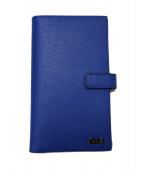 TUMI(トゥミ)の古着「システムウォレット 財布」 ブルー