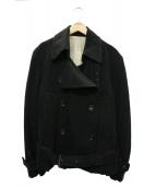 Ys(ワイズ)の古着「ウールデザインジャケット」 ブラック