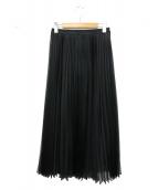 ANAYI(アナイ)の古着「マットプリーツスカート」 ブラック