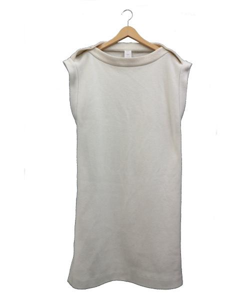 seya(セヤ)seya (セヤ) サイドスナップワンピース ホワイト サイズ:S Marianne Dress 定価60,000円+税の古着・服飾アイテム