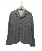 45R(フォーティファイブアール)の古着「杢杢ツイードのジャケット」|グレー