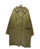 GALLEGO DESPORTES(ギャレゴデスポート)の古着「マンスタイルトレンチコート」|ベージュ