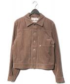 COMME des GARCONS SHIRT(コムデギャルソンシャツ)の古着「コーデュロイジャケット」|ブラウン