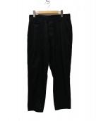 NEXUSVII(ネクサスセブン)の古着「NON BONDAGE PANTS テーパードパンツ」 ブラック