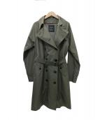 SANYO COAT(サンヨーコート)の古着「 UMBRELLA COAT トレンチコート」|グレー