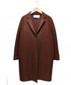 HARRIS WHARF LONDON(ハリスワーフロンドン)の古着「コクーンシルエットコート」|ブラウン