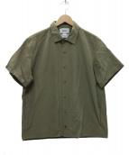 YAECA(ヤエカ)の古着「コンフォートシャツ スナップボタンシャツ」|グリーン
