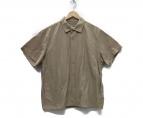 YAECA(ヤエカ)の古着「コンフォートシャツ スナップボタンシャツ」|ベージュ