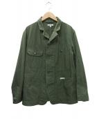 Engineered Garments(エンジニアードガーメンツ)の古着「リップストップエンジニアジャケット」|グリーン