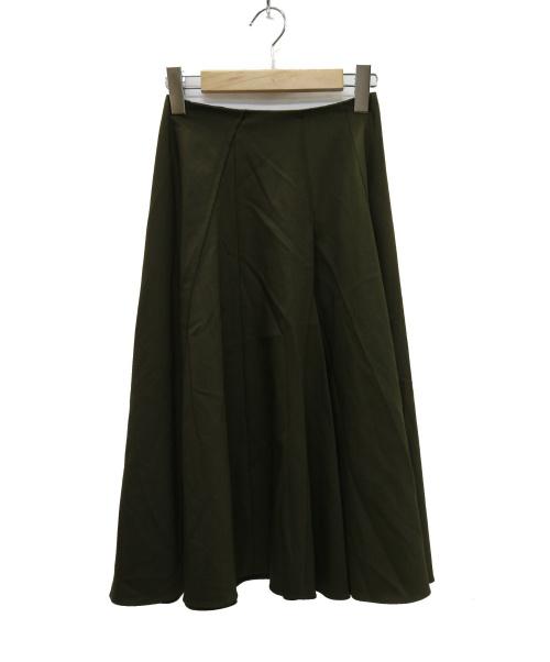 JIL SANDER NAVY(ジルサンダンネイビー)JIL SANDER NAVY (ジルサンダーネイビー) スカート オリーブ サイズ:34の古着・服飾アイテム