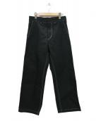 UNUSED(アンユーズド)の古着「ダックパンツ」|ブラック