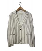 UNTITLED(アンタイトル)の古着「テーラードジャケット」|ホワイト×グレー