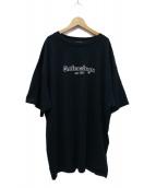 BALENCIAGA(バレンシアガ)の古着「EST. 1917オーバーサイズTシャツ」 ネイビー