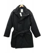 whowhat(フーワット)の古着「TIBET HALF COAT チベットコート」|ブラック