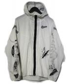 NIKE(ナイキ)の古着「ワイルドランウィンドランナージャケット 」|ホワイト