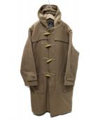 GLOVER ALL(グローバーオール)の古着「UK製 ダッフルコート」|ベージュ