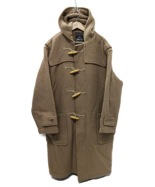 GLOVER ALL(グローバーオール)GLOVER ALL (グローバーオール) UK製 ダッフルコート ベージュ サイズ:M イングランド製の古着・服飾アイテム