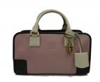 LOEWE(ロエベ)の古着「アマソナ28 ハンドバッグ」|ピンク