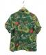 SUN SURF KEONI OF HAWAII (サンサーフ ケオニ オブ ハワイ) アロハシャツ グリーン サイズ:S keoni of hawaii:5800円