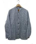 MOUNTAIN RESEARCH(マウンテンリサーチ)の古着「Pharmer Jacket ファーマージャケット」|スカイブルー