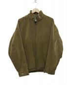 VAINL ARCHIVE(バイナルアーカイブ)の古着「WILL-BLS-B スイングトップ ジャケット」|ベージュ