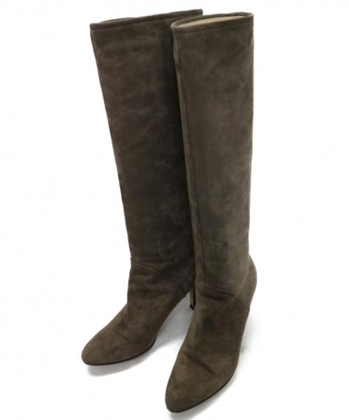 PELLICO(ペリーコ)PELLICO (ペリーコ) TAXI ロングブーツ ブラウン サイズ:37 1/2 TAXI 9517の古着・服飾アイテム