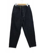 Graphpaper(グラフペーパー)の古着「Denim cook pants デニムコックパンツ」|インディゴ