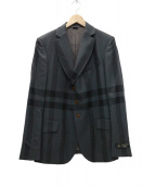 Vivienne Westwood man(ヴィヴィアンウエストウッドマン)の古着「Large Check Jacket ジャケット」|グレー