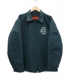 ANTI SOCIAL SOCIAL CLUB(アンチソーシャルソーシャルクラブ)の古着「Nu Korea jacket ジャケット」|グリーン