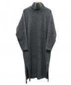 MOGA(モガ)の古着「パフィスリーブワンピース」|グレー