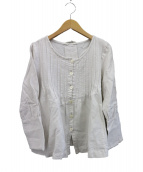 Lisette(リゼッタ)の古着「リネンブラウス」 ホワイト