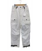 N.HOOLYWOOD(エヌハリウッド)の古着「ミリタリーカーゴパンツ」|ホワイト